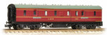 374-885 Farish LMS 50ft Full Brake Crimson Lake